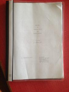Holiday manuskript