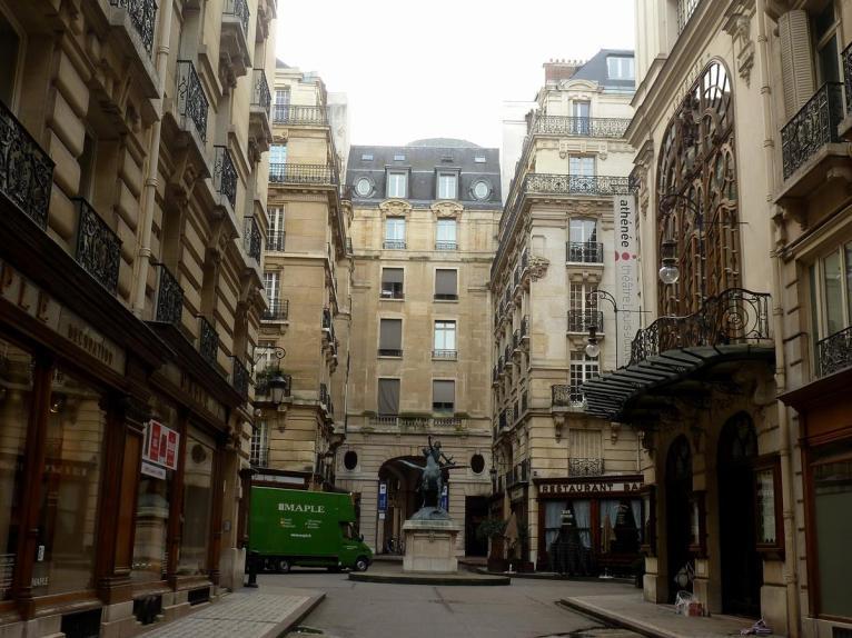 Hinterhof in Paris