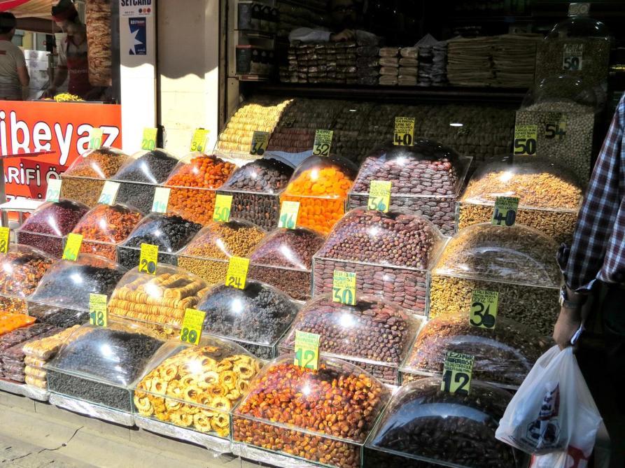 getrocknete Früchte, Üsküdar, Istanbul