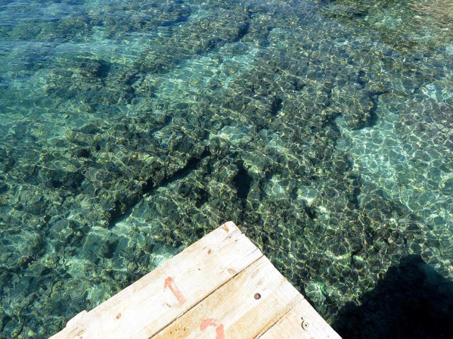 kristallklares Wasser, Kaleköy