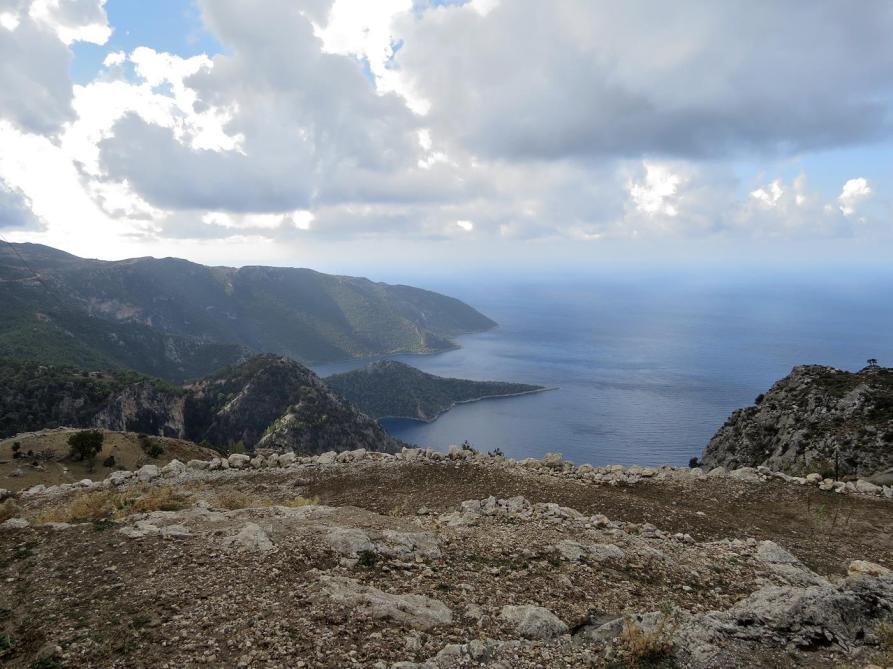 Blick aufs Mittelmeer