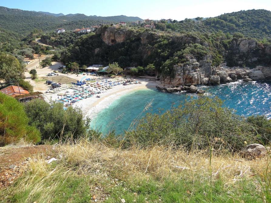 großer Strand bei Kaş
