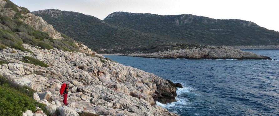 Auf dem Lykischen Weg von Kalkan nach Demre