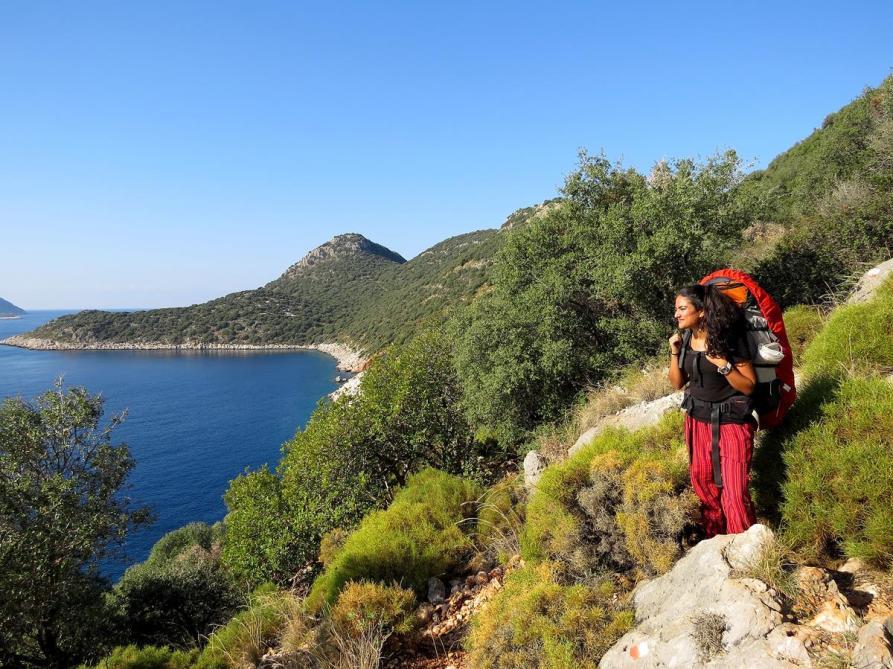 Aussicht über das Mittelmeer