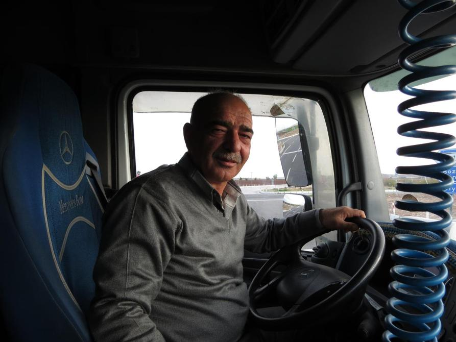 Lkw-Fahrer, Türkei