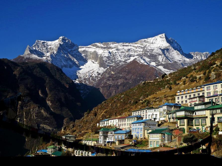 Konde Ri, Namche Bazaar, Everest