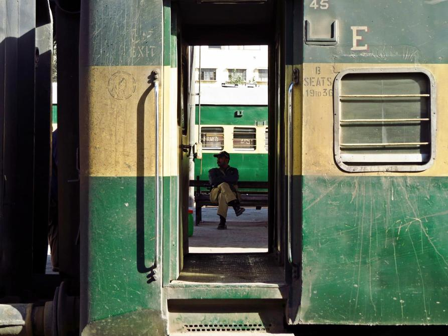 Bahnhof Karatschi, Pakistan