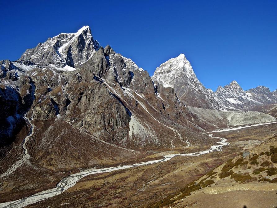 Taboche, Cholatse, Khumbu Khola, Himalaja