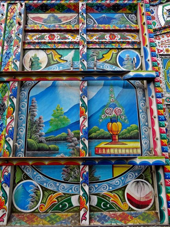 Phool Patti, dekorierter Lkw