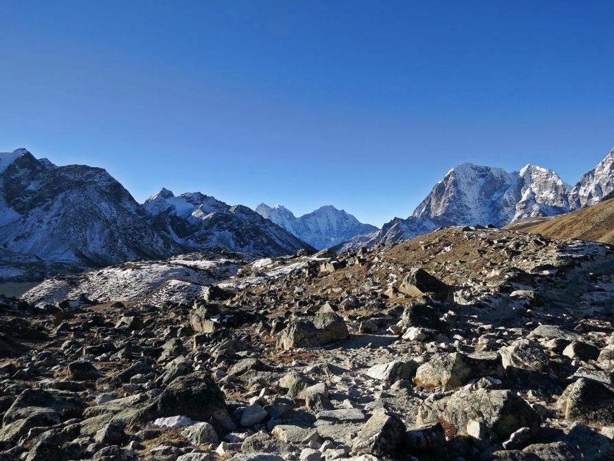Khumbugletscher, Himalaja