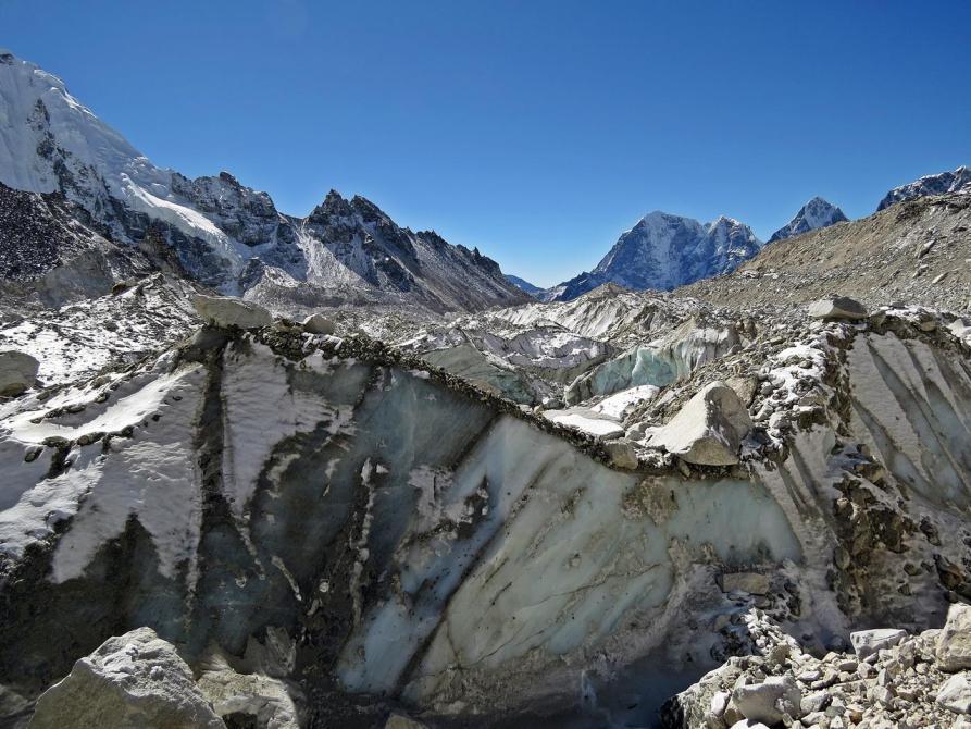 Khumbugletscher, Mount Everest, Himalaja