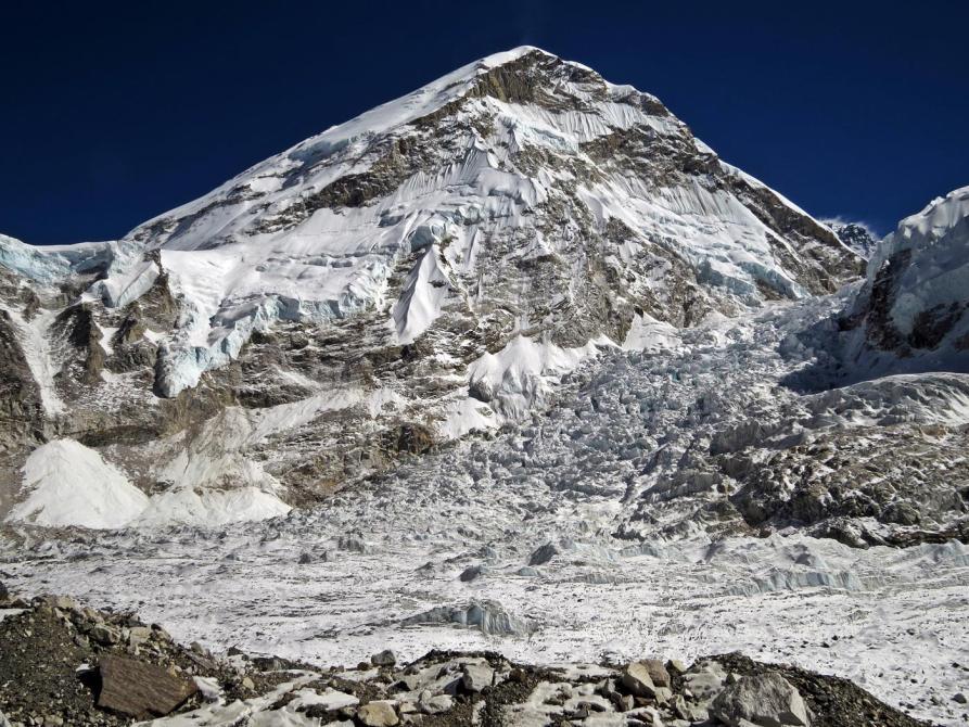 Khumbu Ice Fall, Loh La, Himalaja