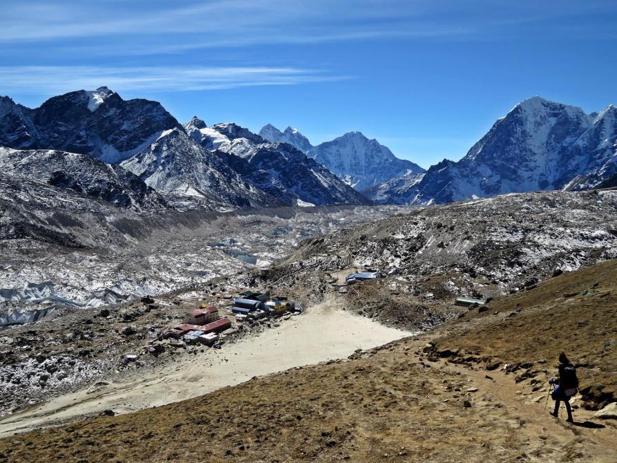 Gorak Shep, Khumbugletscher, Himalaja