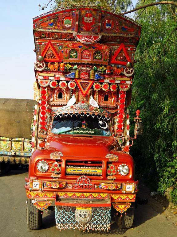 Phool Patti, Lkw zwischen Islamabad und Lahore