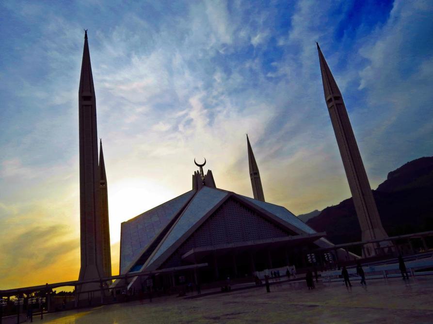 Faisal-Moschee, das Wahrzeichen Islamabads