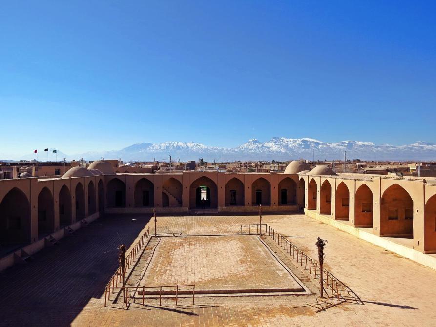 Karawanserei in Saryazd