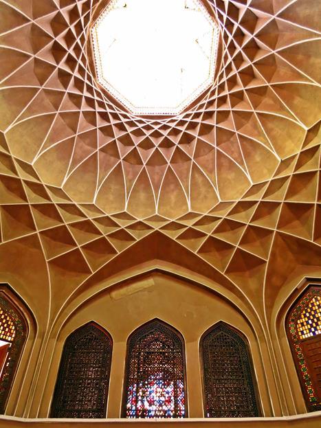 herausragendes Innendesign im Pavillon des Karim Khan