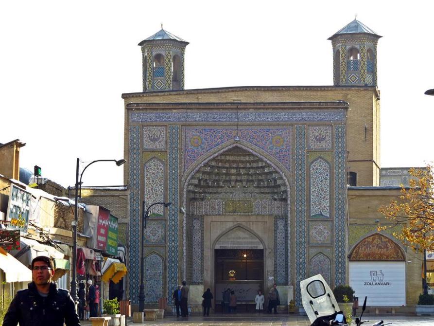 Eingangsportal der Vakil Moschee