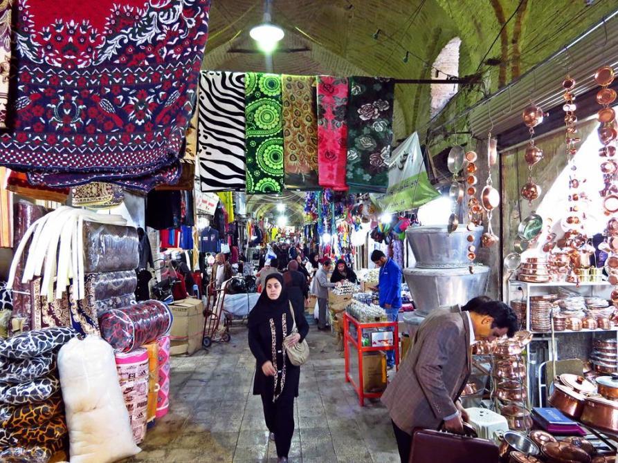 Besuch auf dem Vakil Basar