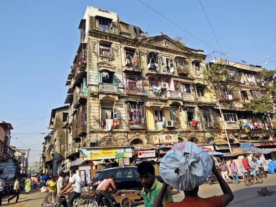 Straßenszene in Mumbai
