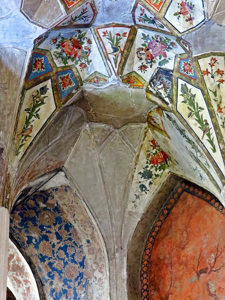 Wandmalereien am Tschehel Sotun, Qazvin
