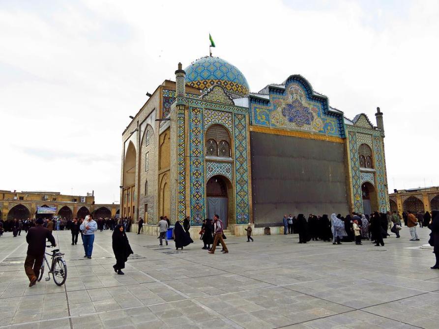 Hosseins Schrein, Qazvin