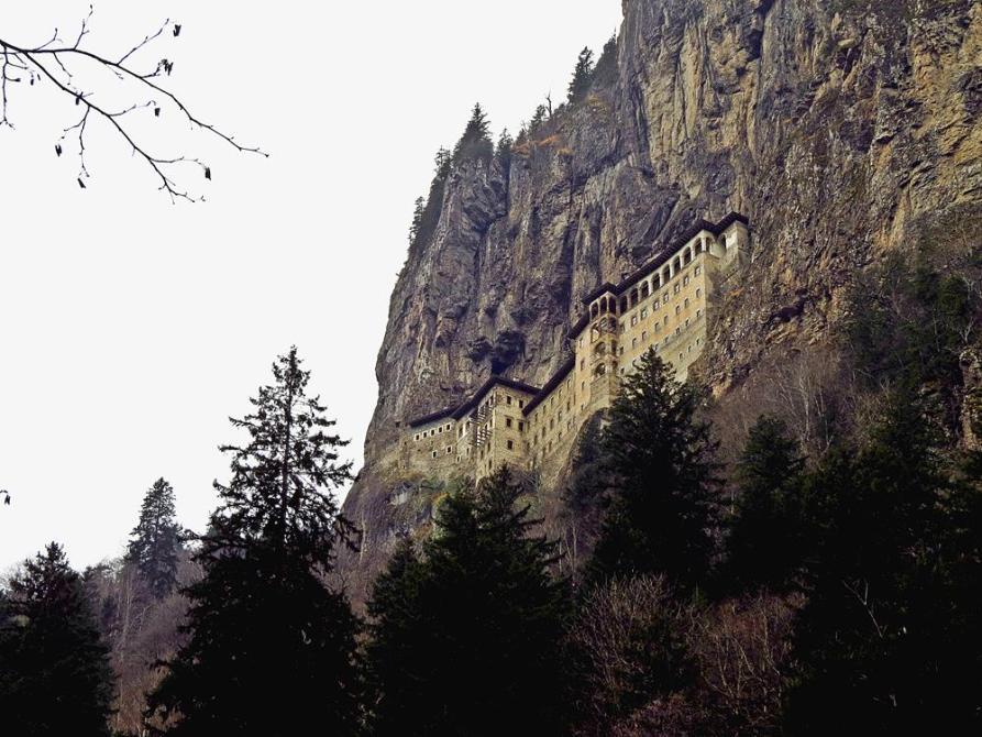 das Sumela-Kloster im Fels