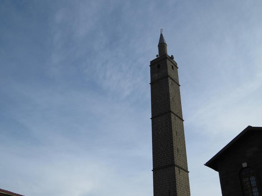 Minarett der Ulu Camii in Diyarbakır