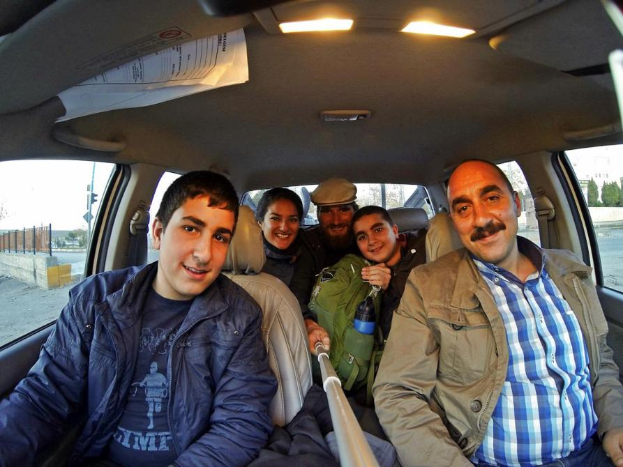 Per Anhalter von Mardin nach Diyarbakır