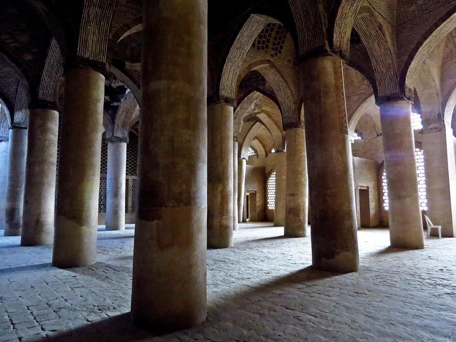 Gebetshalle in der Freitagsmoschee, Isfahan, Iran