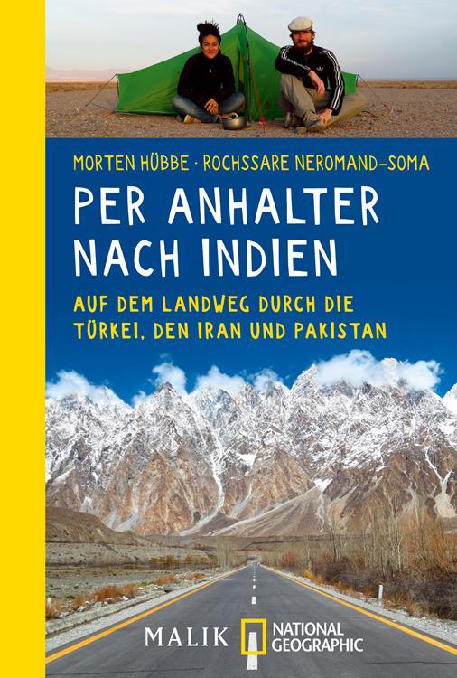 Buch Per Anhalter nach Indien