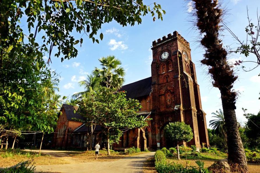 Kirche des Heiligen Matthäus, Mawlamyine, Myanmar