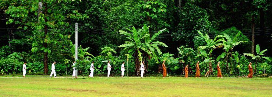 Vipassana Meditation im Waldkloster Wat Pa Tam Wua – Tag 1-5