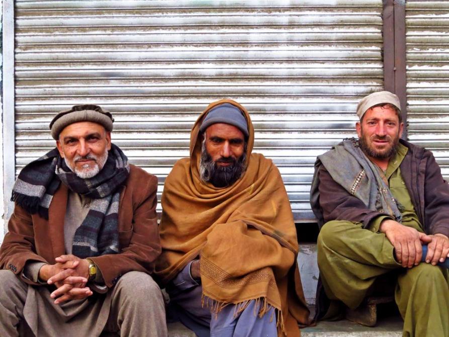 Menschen aus Pakistan