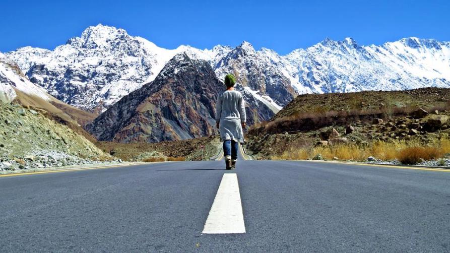 Passu, Karakorum Highway, Pakistan