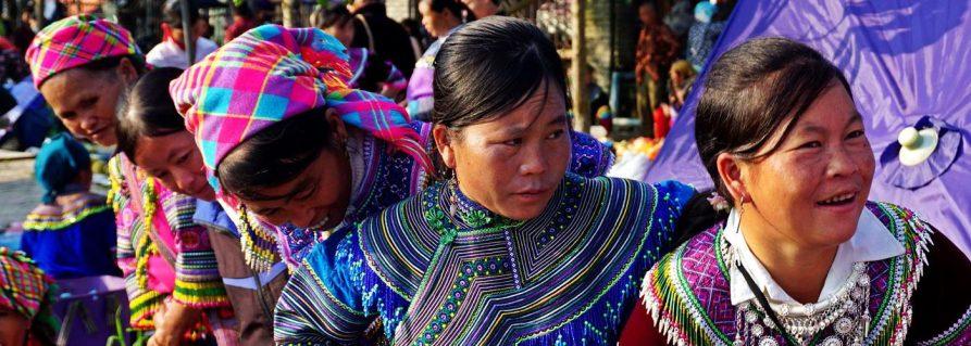 Die Marktfrauen von Bac Ha