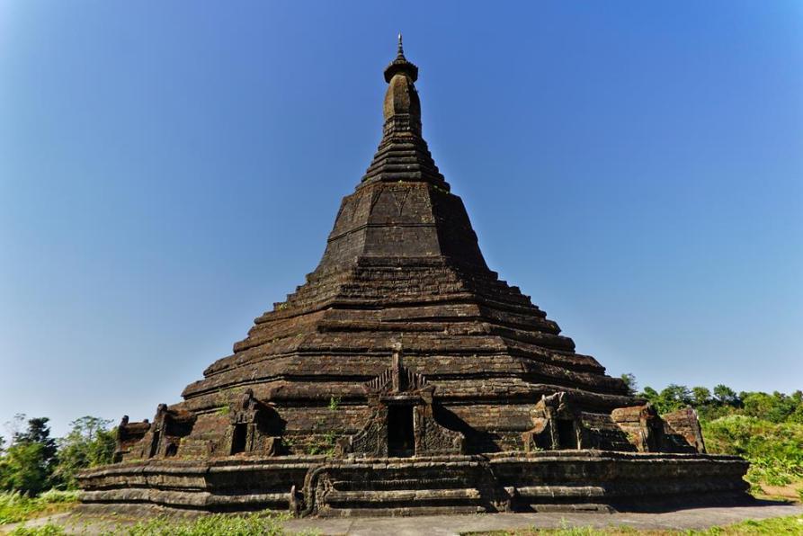 Laung Ban Pyauk Pagode, Mrauk U, Myanmar