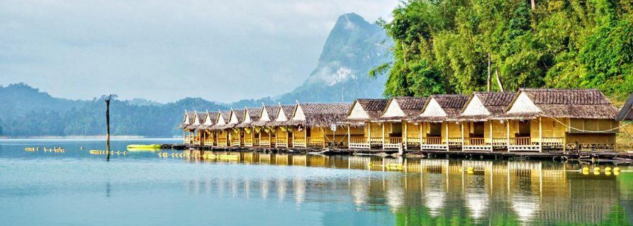 Haus auf dem See: Der Khao Sok Nationalpark