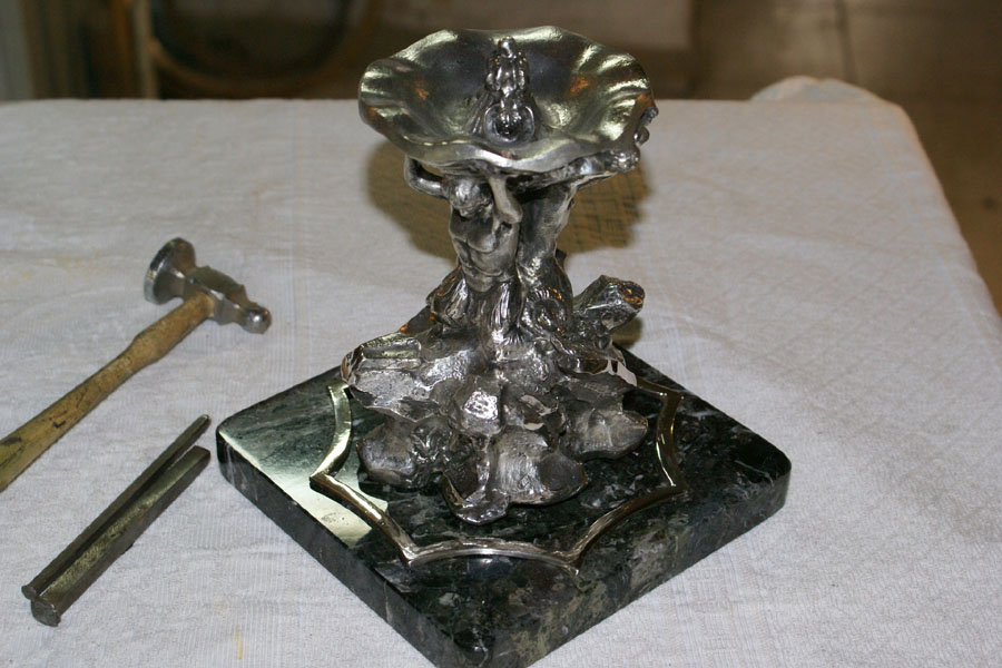 """La fontana dei due tritoni, detta del """"Bizzaccheri"""""""