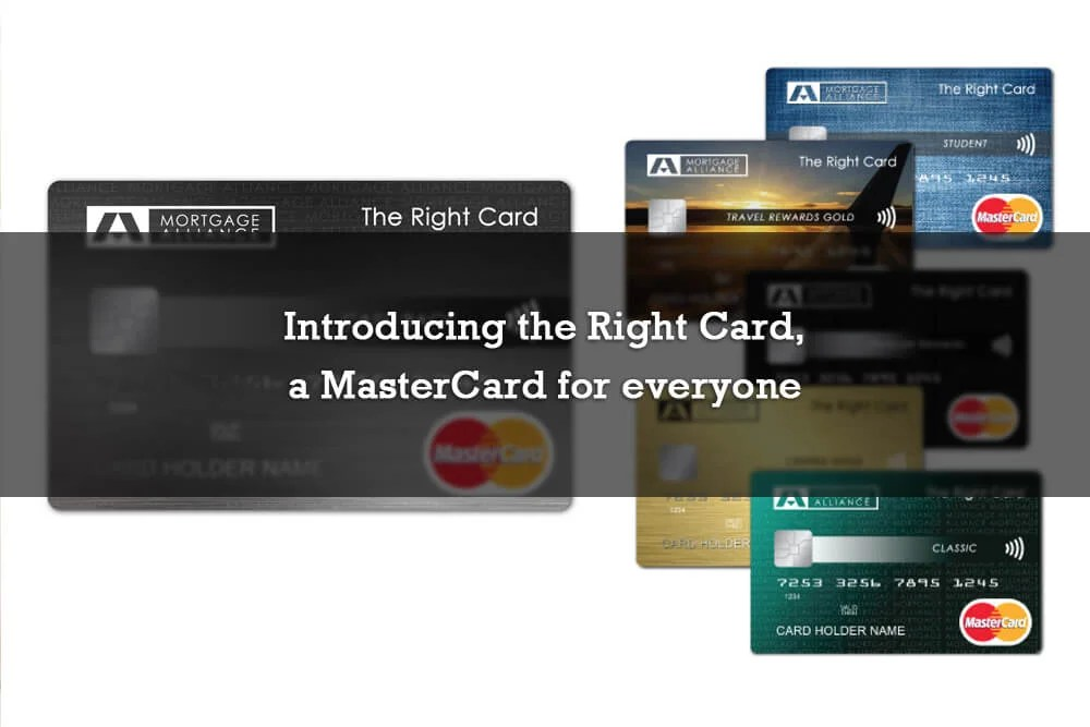 Introducing the Right Card, a MasterCard for everyone