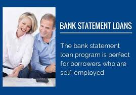 Bank statement mortgages