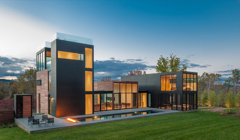 Amazing Modern House in Rappahannock County, Virginia, USA ... on Amazing Modern Houses  id=55383