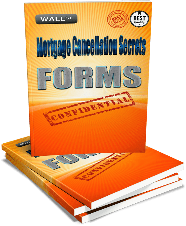 Mortgage Cancellation Secrets Forms Cover