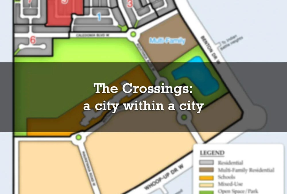 The Crossings: a city within a city