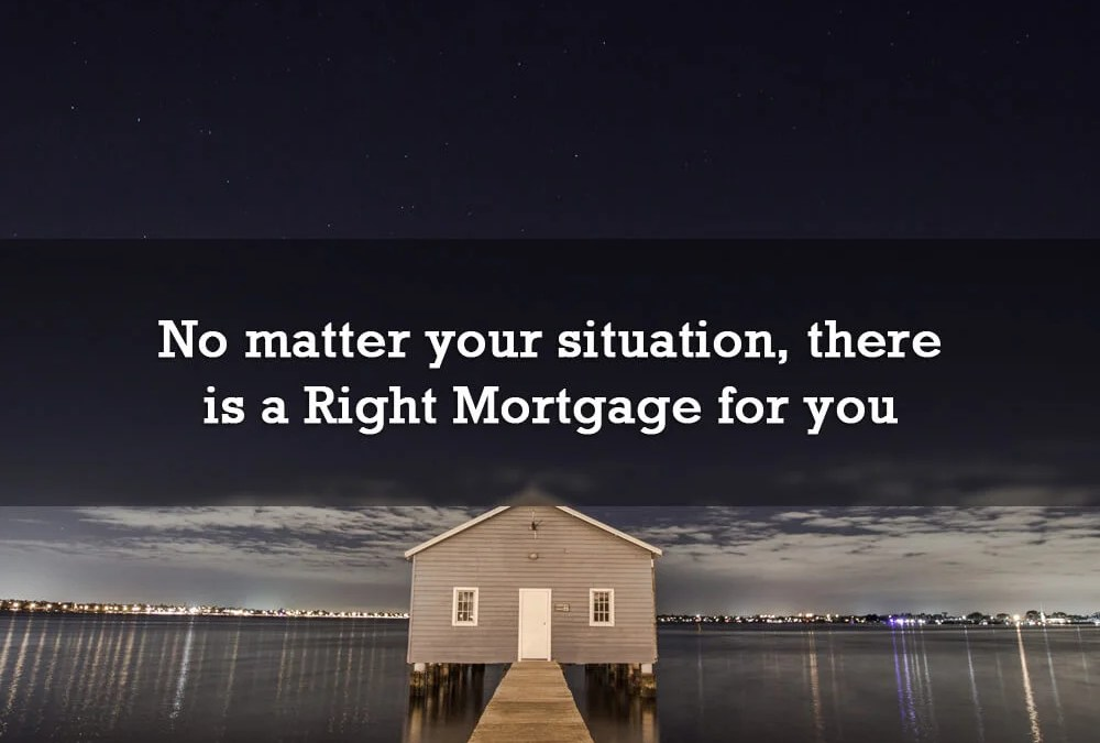 No matter your life situation, there's a Right Mortgage for you