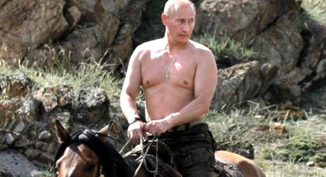 Putin+Horse