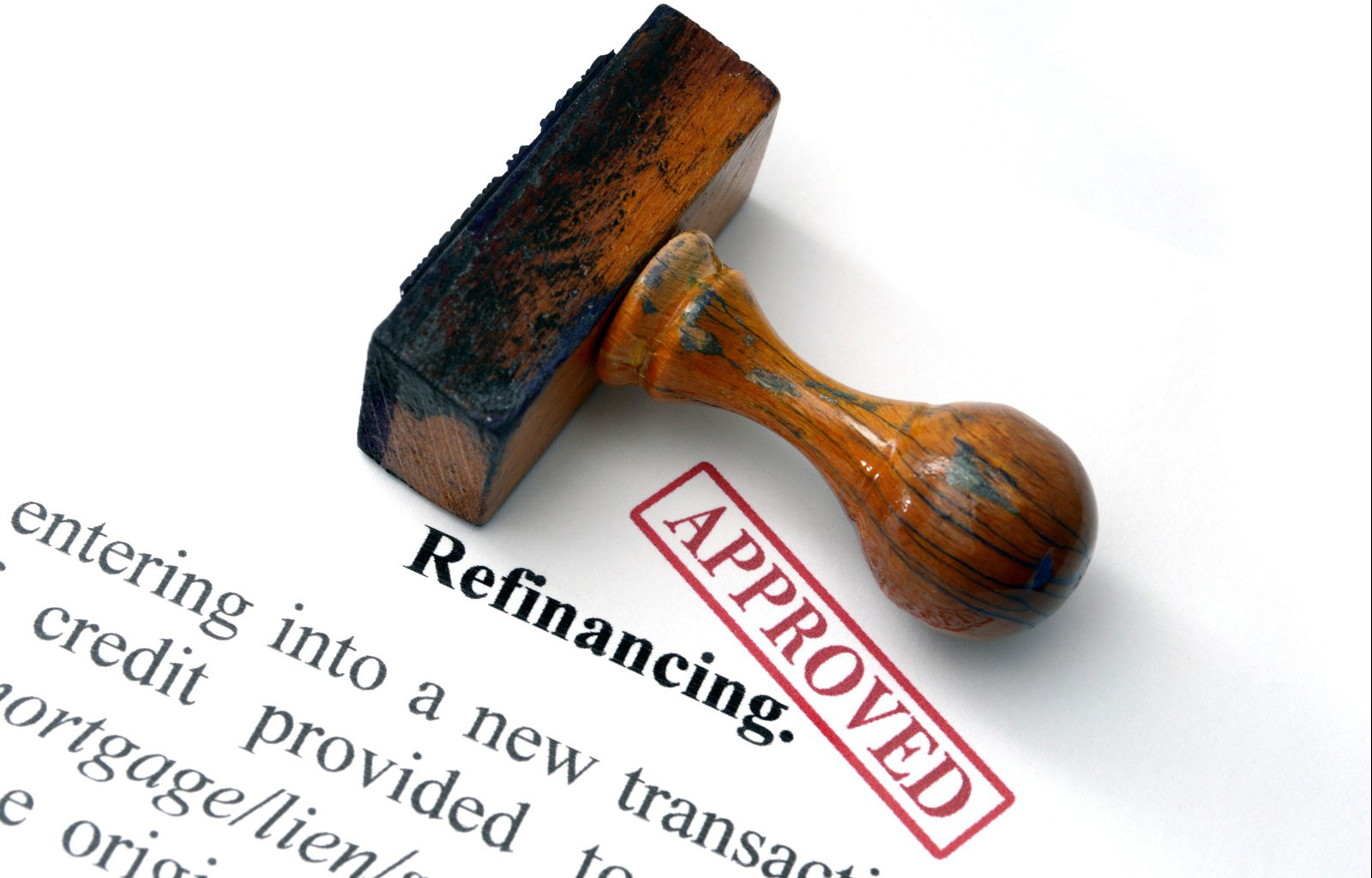 Refinancing for the right reasons.