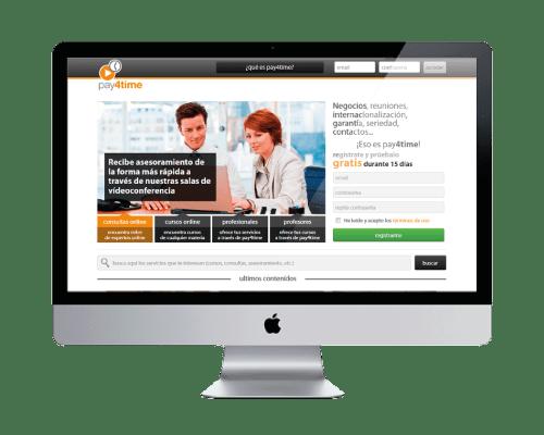 Online Training Company Corporate Website Design