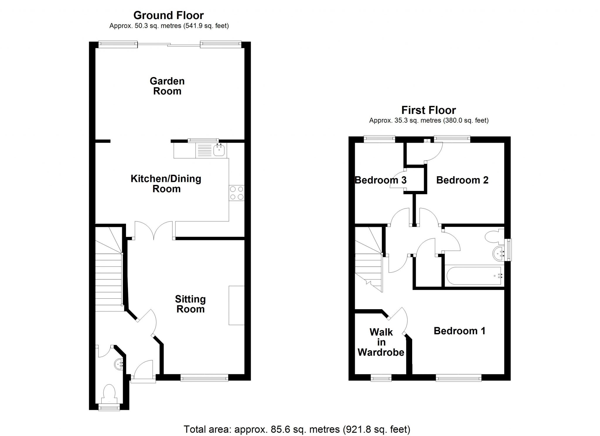 A Modern 2 Bedroom Property With A South Facing Garden And