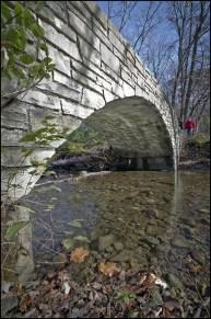 Crossing Black Partridge Bridge